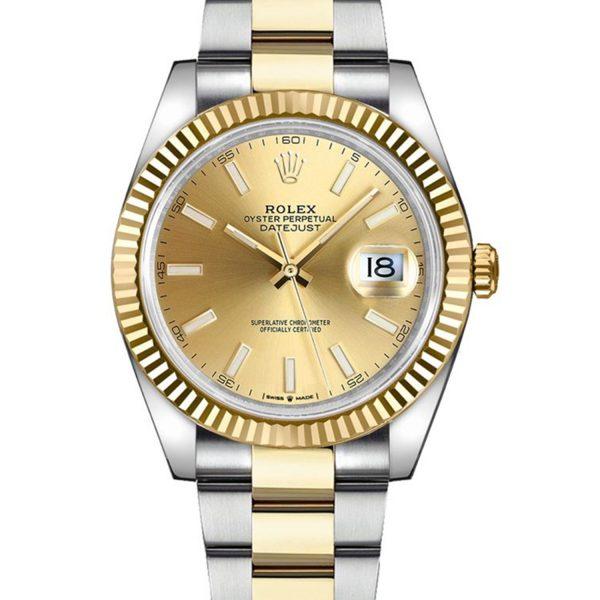 Rolex Datejust 126333 41mm 904l Cinturino Automatico In Acciaio Inossidabile Da Uomo