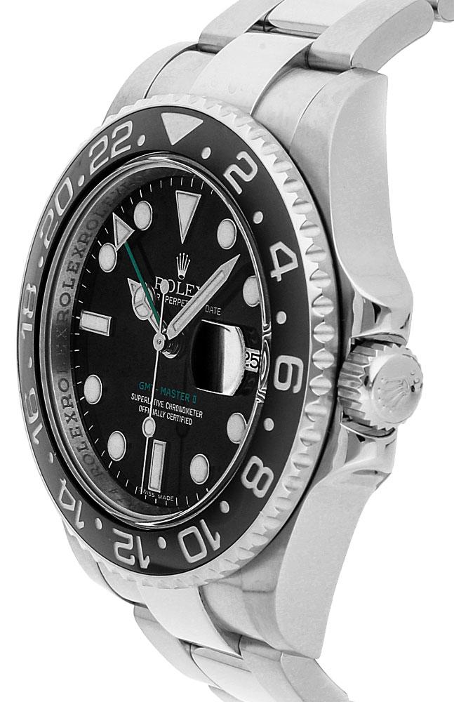Rolex GMT-Master II 116710LN 40MM da uomo automatico 904L bracciale in acciaio inossidabile Oystersteel