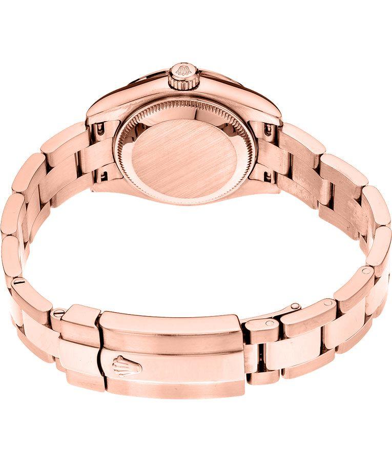 Rolex Datejust 179165 26MM da uomo automatico 18k Everose Bracciale in oro